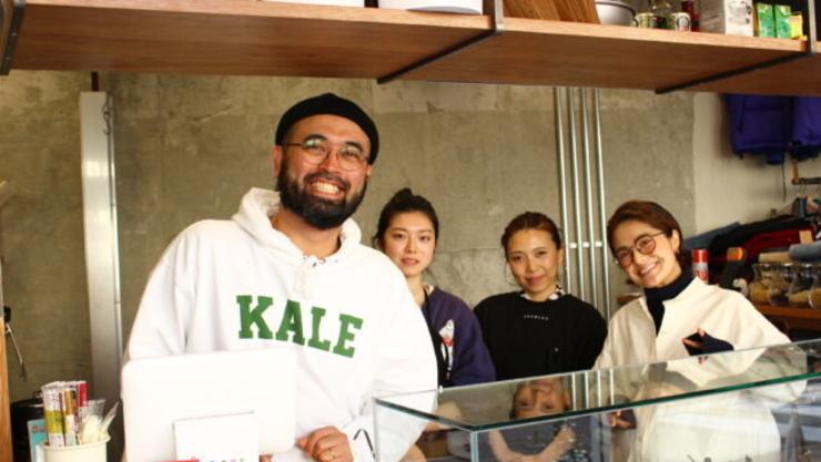 [일본 자영업 엿보기]코로나에 옷가게, 카페까지 겸하는 샐러드매장 '오버랩'(OVERLAP)