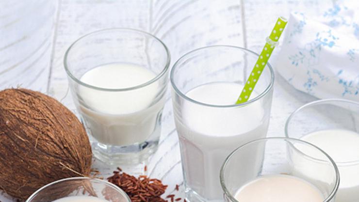 [카드뉴스]  '친화경·비건' 모두 충족시킨 '식물성 우유' 인기